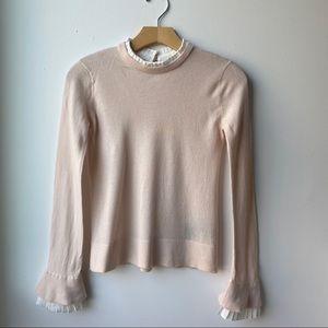 2/$50🎉Club Monaco Blush pink sweater XS